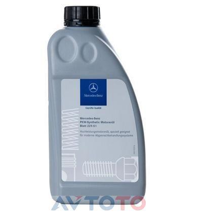 Моторное масло Mercedes Benz A000989910110