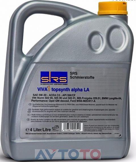 Моторное масло SRS 7383