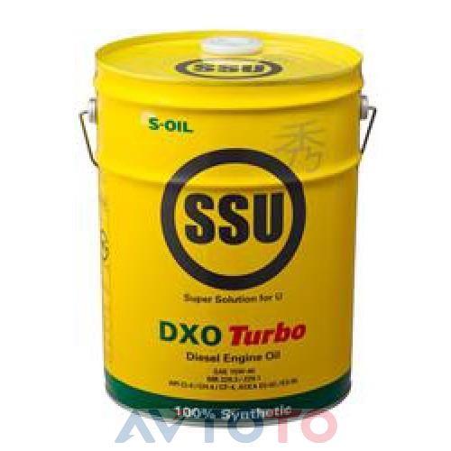 Моторное масло S-Oil DSSU15W40DXO20