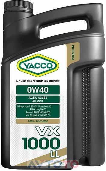 Моторное масло Yacco 306222