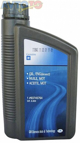 Моторное масло General Motors 93745764