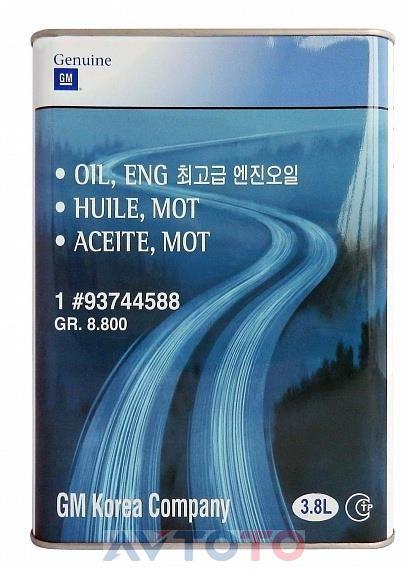 Моторное масло General Motors 93744588