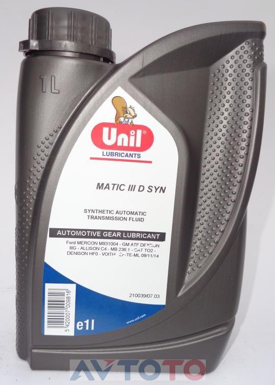 Трансмиссионное масло Unil 5420007009816