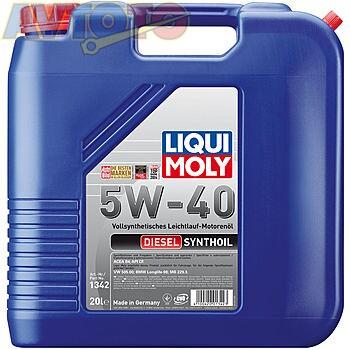 Моторное масло Liqui Moly 1342