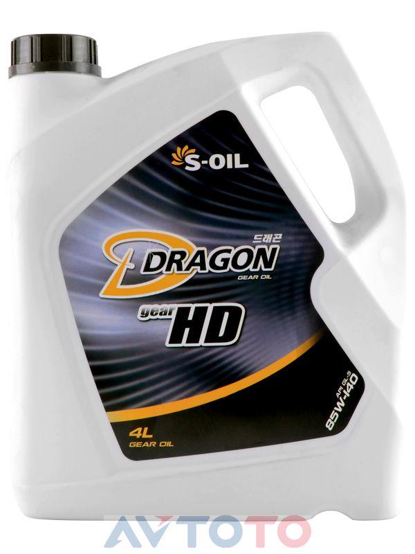 Трансмиссионное масло S-Oil DHD85W14004