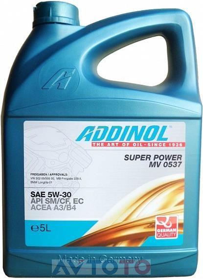 Моторное масло Addinol 4014766240460