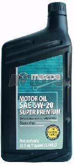 Моторное масло Mazda 0000775W20QT