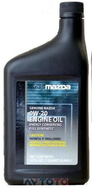 Моторное масло Mazda 0000770W20QT