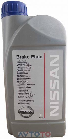 Тормозная жидкость Nissan KE90399932