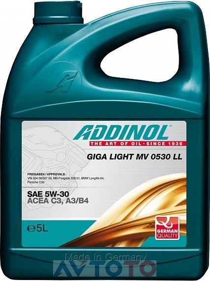 Моторное масло Addinol 4014766241108