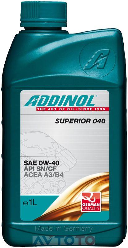 Моторное масло Addinol 4014766072689