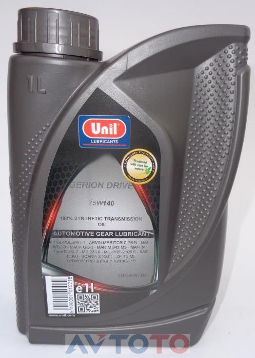 Трансмиссионное масло Unil 5420007010218