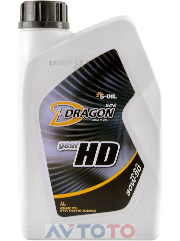 Трансмиссионное масло S-Oil DHD80W9001