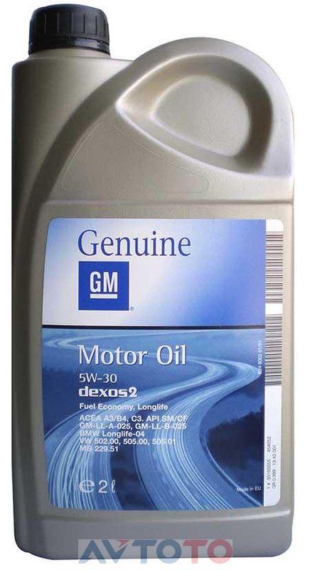 Моторное масло General Motors 1942001
