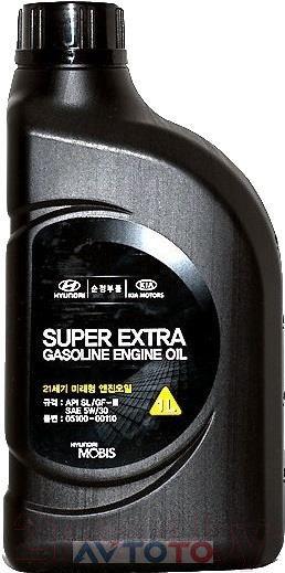 Моторное масло Hyundai/Kia 0510000110
