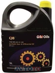 Трансмиссионное масло Q8 101201001616