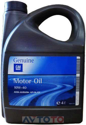 Моторное масло General Motors 1942045