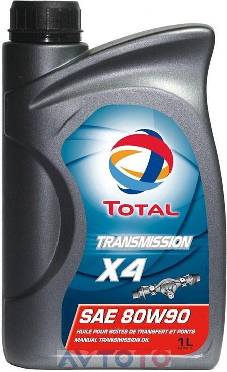Трансмиссионное масло Total 166276