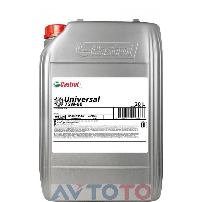 Трансмиссионное масло Castrol 15802A