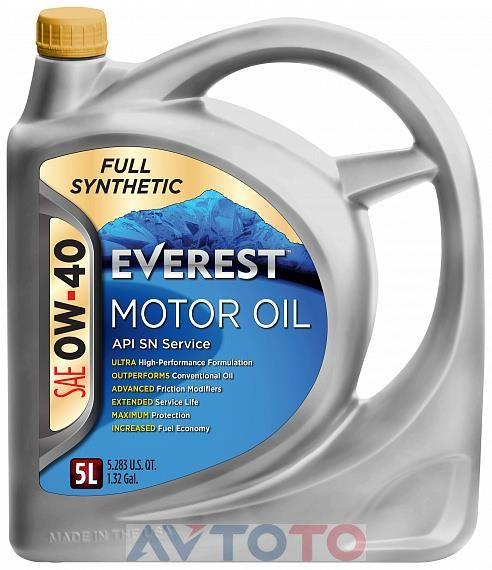 Моторное масло EVEREST FP04000EV05LFS