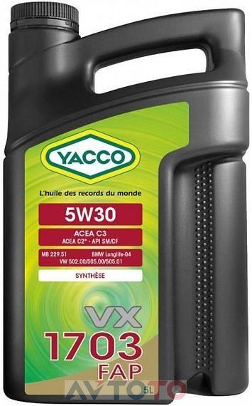 Моторное масло Yacco 301722