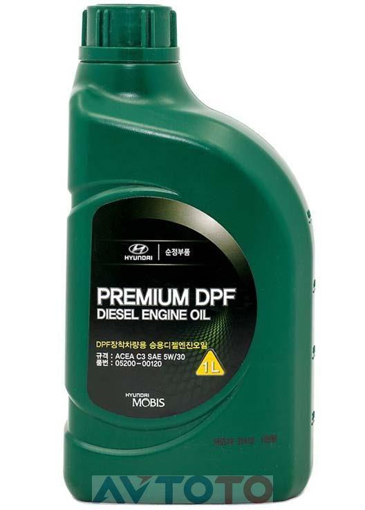 Моторное масло Hyundai/Kia 0520000120