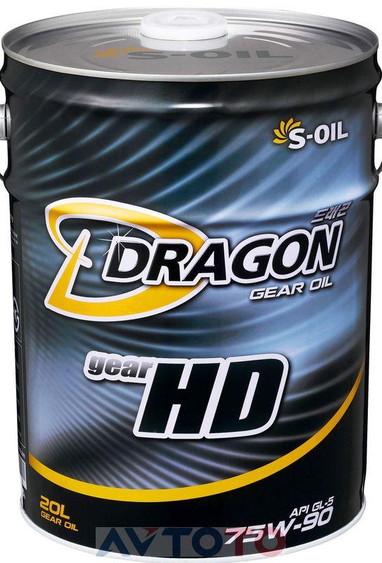 Трансмиссионное масло S-Oil DHD75W9020