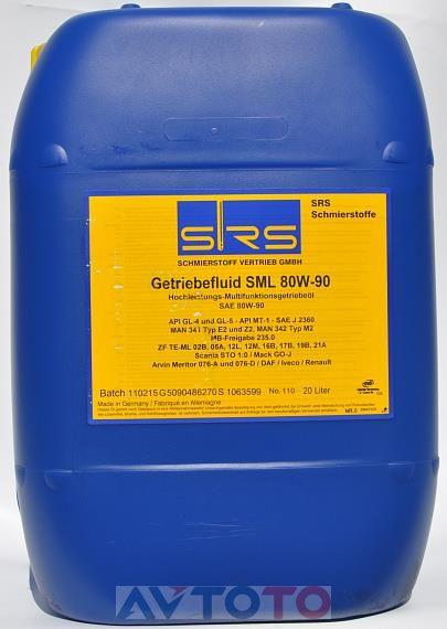 Трансмиссионное масло SRS 7247