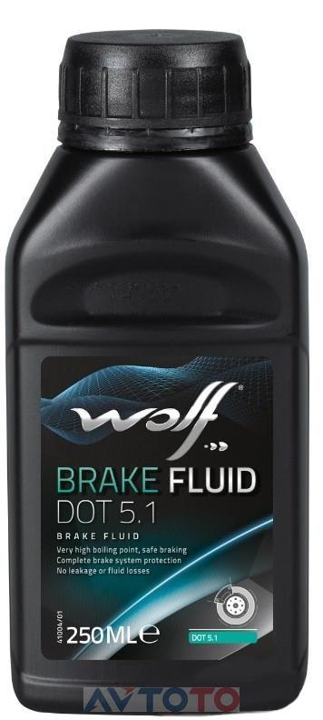 Тормозная жидкость Wolf oil 8308109
