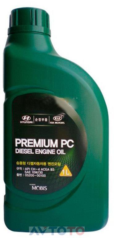 Моторное масло Hyundai/Kia 0520000100
