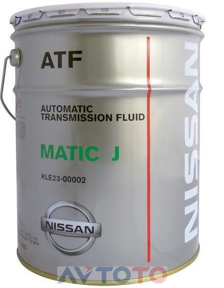 Трансмиссионное масло Nissan KLE230000201