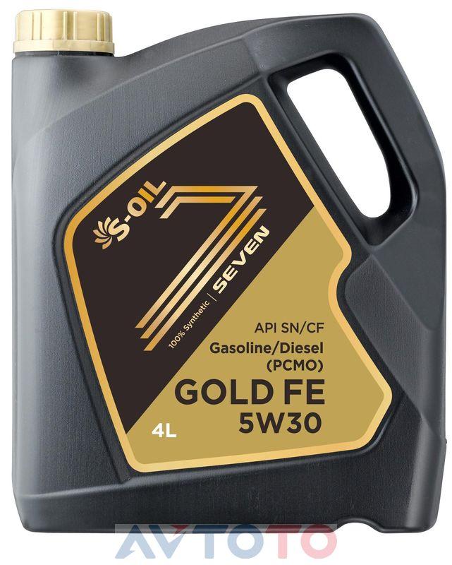 Моторное масло S-Oil GOLDFE5W3004