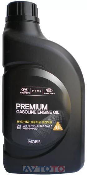 Моторное масло Hyundai/Kia 0510000121