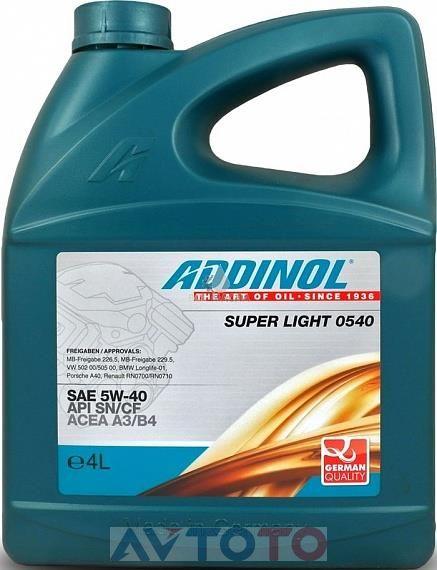 Моторное масло Addinol 4014766251022