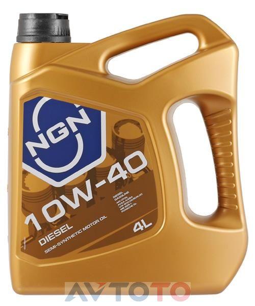 Моторное масло NGN Oil 10W40CFSLDIESEL4L