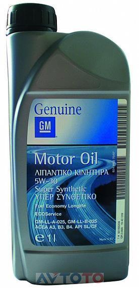 Моторное масло General Motors 1942039