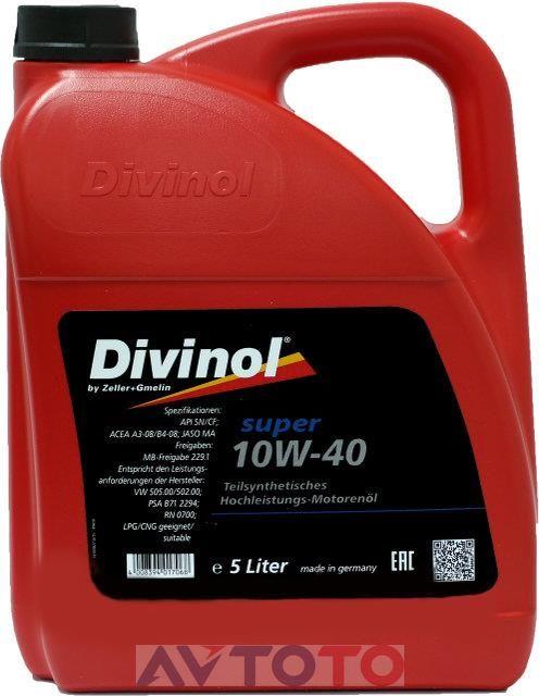 Моторное масло Divinol 49624K007