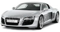 Автозапчасти Audi 1 пок   (07-15) крепление «крючок»