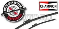 Стеклоочиститель Champion Easyvision Multi-Clip EF60+Стеклоочиститель Champion Easyvision Multi-Clip EF35  EF60B01